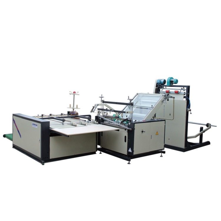 Woven bags automatic cutting and sewing machine