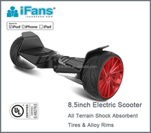 All-terrain UL2272 certified smart dual motor 800W 8.5inch electric balancing Scooter 2 wheels Hoverboard CE,ROHS,FCC,REACH