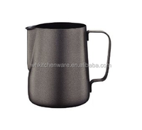 Many kinds of colors good price 350/600/1000ML 20 Gauge 18/8 stainless milk jug