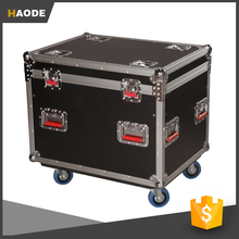 Aluminum Cable Flight Case with Casters