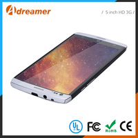 Visible under strong light China export 5 inch android 3g smartphone