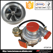 billet turbo for Ford focus dual ball Bearing GT2871 turbocharger