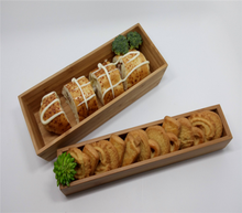 bamboo tray dishes home decor cookie box or lunch box with cover