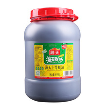 6kg Haday Chinese famous brand gourmet oyster sauce for restaurant