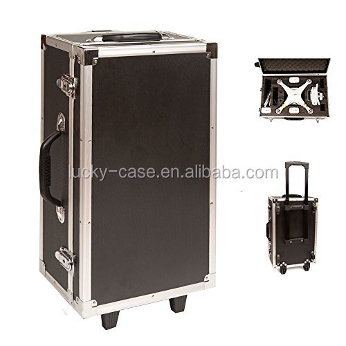 Hardshell Trolley Case for DJI Phantom 3 with wheels