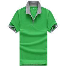 Top Selling fashion high quality costomized 100%cotton solid color /stripe poLo T-shirt