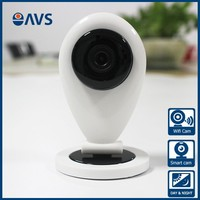 Chinese Audio Wireless Home Smart Surveillance IP Camera IR LED Support TF Card and Network Storage