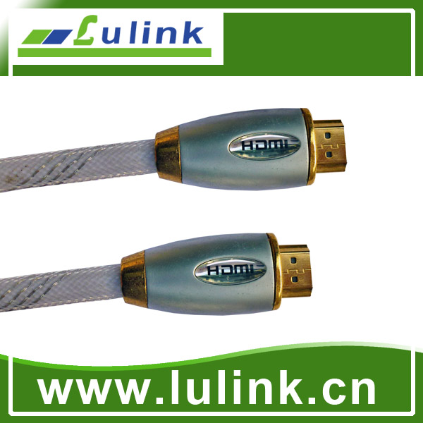 19 Pin Male To Male Metal Casing Type HDMI cable