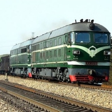 China delivery service logistics used railway track railway transportation to Europe