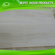 Edge Glued Paulownia panels,quality and cheap