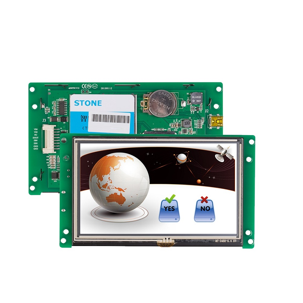 STONE TECH 5 inch tft 800x600 lcd capacitive touchscreen module