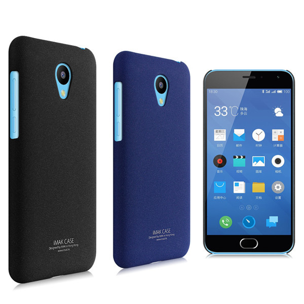 Imak Cowboy Series Simple Hard Back Cover Case for MEIZU M2