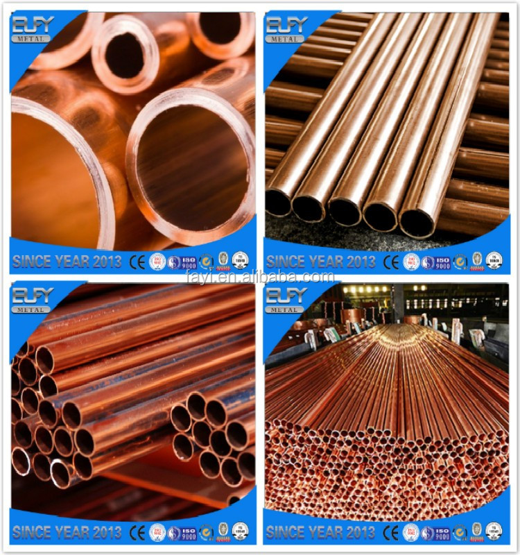 Online shopping price coil air conditioner copper pipe