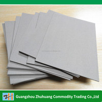 High quality Chinese paper manufacturer book binding paper grey board