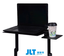 New Adjustable foldable laptop Notebook desk Table Fans Stand Portable Bed Tray