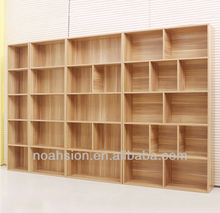 tall wooden library bookcases nslpbs18