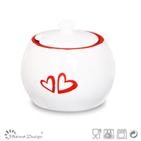 ceramic pot new design/candy pot