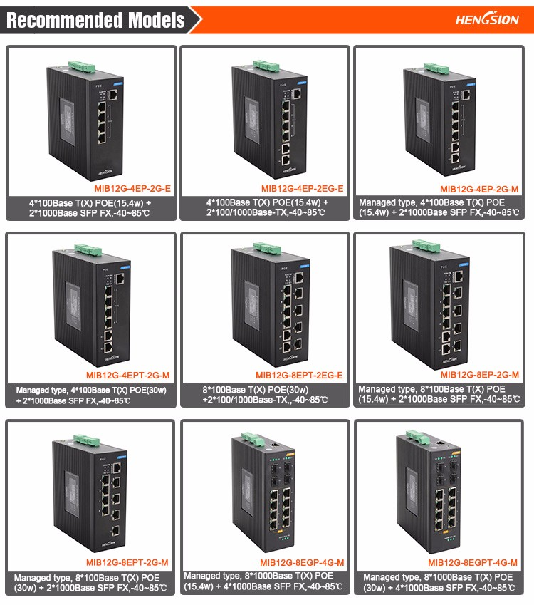 Professional Industrial POE Switch in China