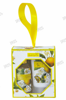 Fine fragrances wholesale lovely style bath gift sets,skin whitening lotion