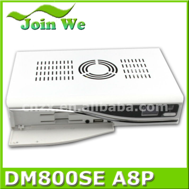 hd iptv receiver dm800hd se sim a8p card dvb-s2 tuner digital mpeg4 tv decoder dm800se a8p