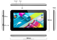7 inch Quad core tablet Android4.4 2G/3G Phone Call tablet dual SIM Card 1GB RAM+8GB ROM IPS Capacitive