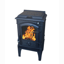 Non detachable leg Wood Burning Stove