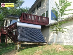 Compact non-pressurized solar water heater solar power information