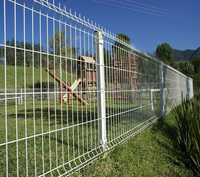 2500mm Green Colour Welded Wire Mesh Fence Low cost welded mesh fence wire