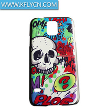 mold decoration printing plastic case for samsung galaxy