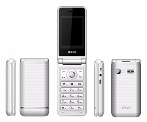 2017 Ipro V7 2.4 inch 2500mah big battery 2G flip phone