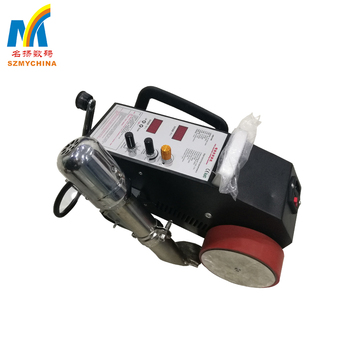 High efficient hot air melt automatic pvc banner welding machine price for sale