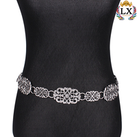 WLX 00006 Vintage Ethnic Belly Chain