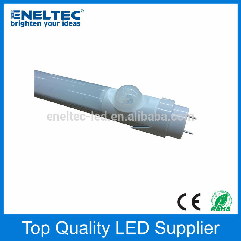 Professional motion sensor led tube light t8 with ce rohs