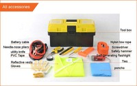 HF-4032(10) Hot Sale Car Emergency Kit Outdoor Emergency Survival Tool Car Repair Safety Tools Kits (CE certificates)