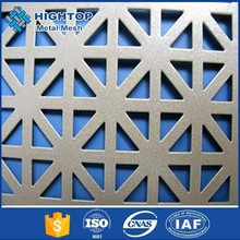 Alibaba China 5mm thick stainless steel perforated sheet