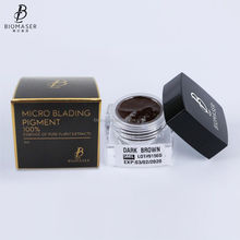 Biomaser Popular OEM 5ML Tattoo Ink Microblading Pigment for Eyebrow