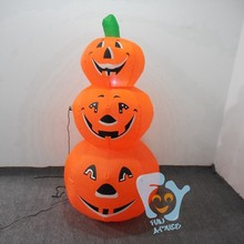 giant halloween decoration inflatable artificial pumpkin