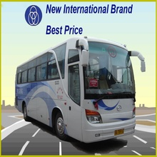 Rear engine bus10m new luxury bus/coach price for sale