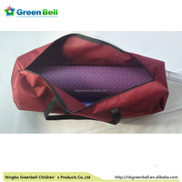 high quality waterproof yoga mat tote bag backpack with shoulder straps