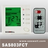 Hot selling digital 3 speed fan fan coil thermost with BAC net ,Hvac system room temperature controller