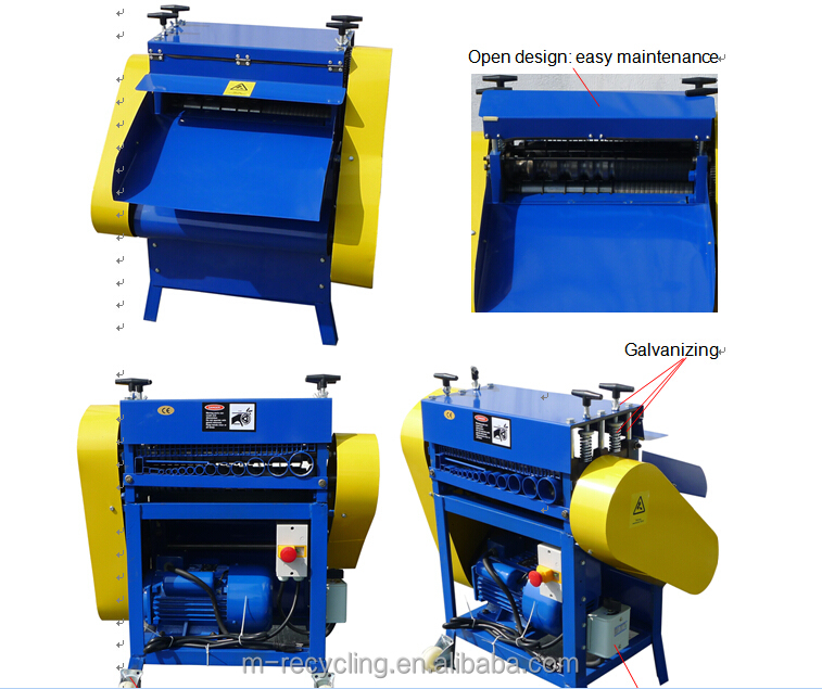 Wire Recycling Machine MSY-50V wire stripper machine cable stripping machine