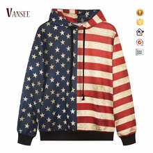 heat transfer sublimation printing united states graphic pullover vintage hoodies