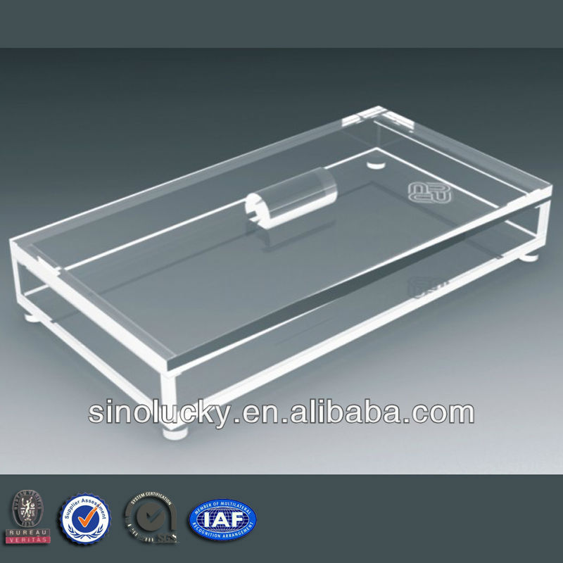 clear acrylic candy tray