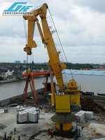 100t Knuckle boom offshore pedestal crane with ABS certification
