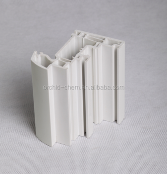 Waterproof ISO pvc profiles for Plastic windows and doors