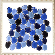 Alibaba Best Wholesale Free Stone Round Glass Mosaic for Wall Tile