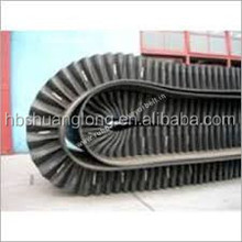 High Quality Rubber Sidewall Conveyor Belt for stone crusher and construction