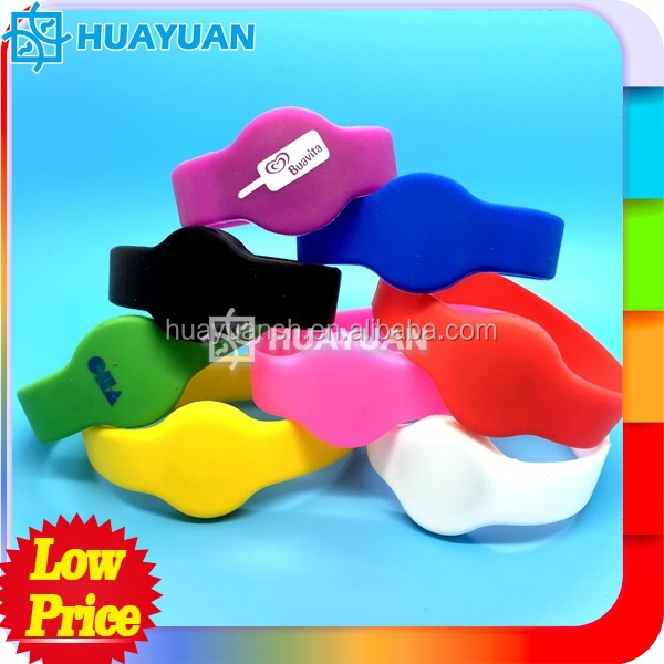 Wholesale Custom UHF Silicone NFC Wristband for Cashless <strong>Payment</strong>