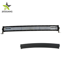 Anti Theft Screws Spot Flood Combo Beam IP68 270W 22 Inch Curved Three Row LED Light Bar For SUV