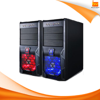 P4 ATX computer desktop PC case with handle
